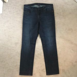 Kut from the Kloth Dark Wash Stevie Straight Jeans